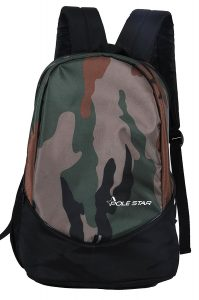 Polestar RANGER 30 L camo green lite weight casual school college Backpack bag with laptop compartment