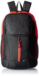 Puma 26 Ltrs Black and Red Blast Casual Backpack (7410506)