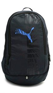 Puma Graphic Blue And Black Backpack
