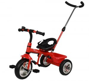 R for Rabbit Tiny Toes Grand - The Smart Plug and Play Tricycle (Red)
