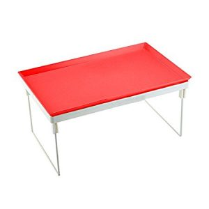 Best laptop Tables in India Kawachi Multifunctional notebook computer table Multifunctional dawdler desk-Red