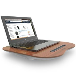 Best laptop Tables in India Tizum Portable Lapdesk laptop Pillow with Built-in Soft Cushion, Can Be Used for Laptop Table, Stand, Studying, Reading, Writing, Bed Table.