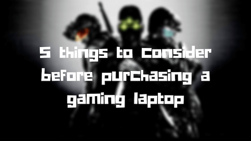 Top 10 Gaming Laptops under 80000 rupees to purchase in India